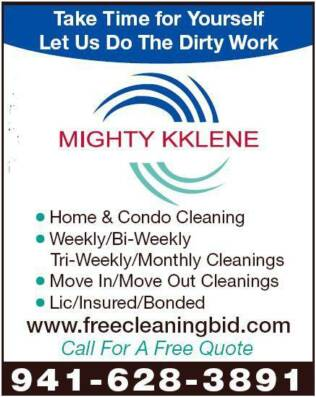 Port Charlotte Cleaning Service - Mighty kklene (941) 628-3891