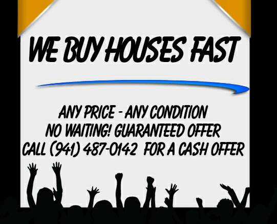 Port Charlotte We Buy Houses. We Can Buy Your House Fast.